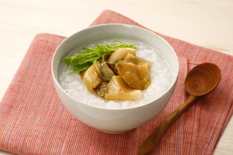 ザーサイで簡単!中華風粥