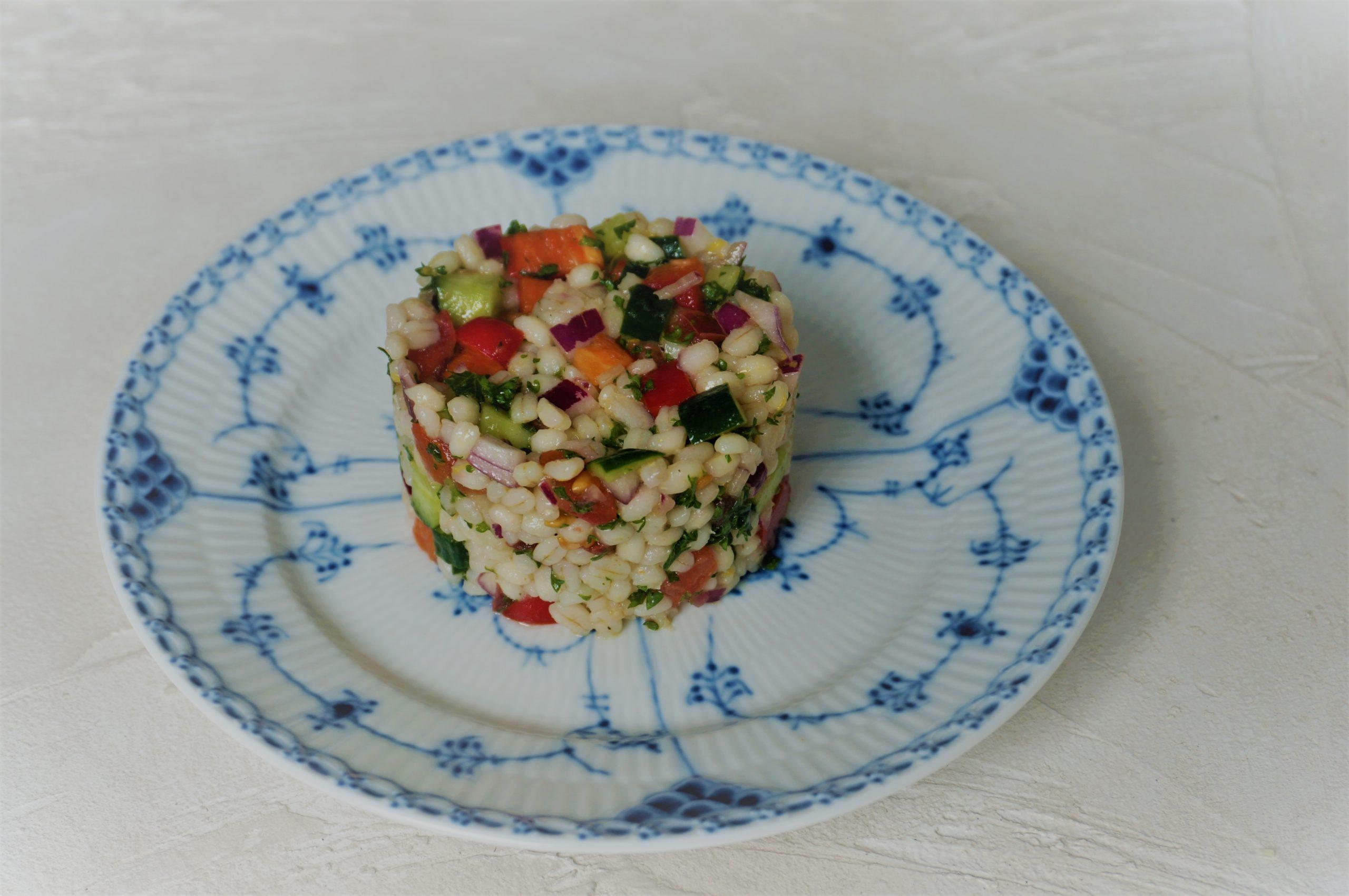 もち麦のモロッコ風サラダ