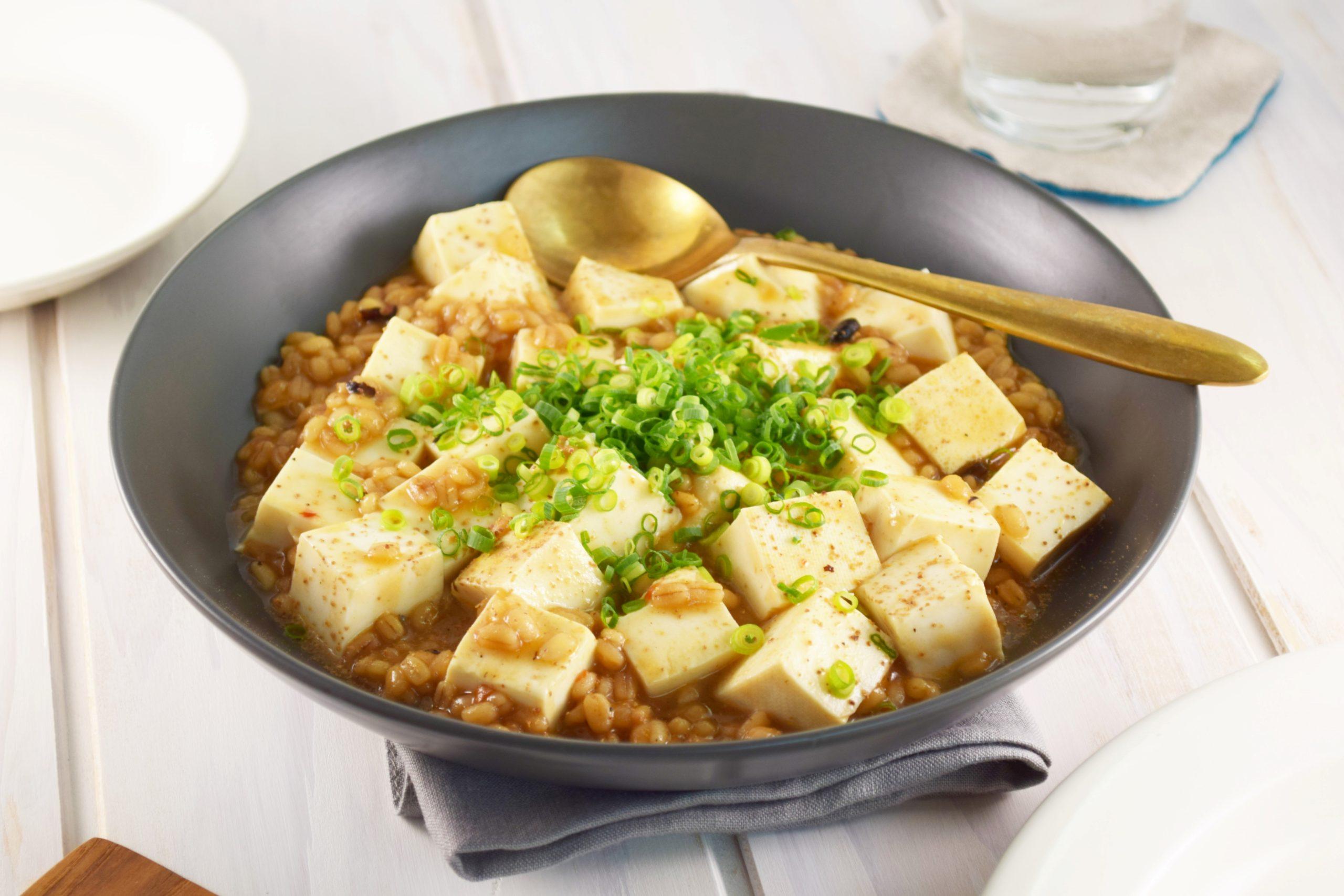 もち麦ベジ麻婆豆腐