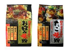 「国内産小麦100%お好み焼粉・たこ焼粉」を2011年3月1日より全国で発売