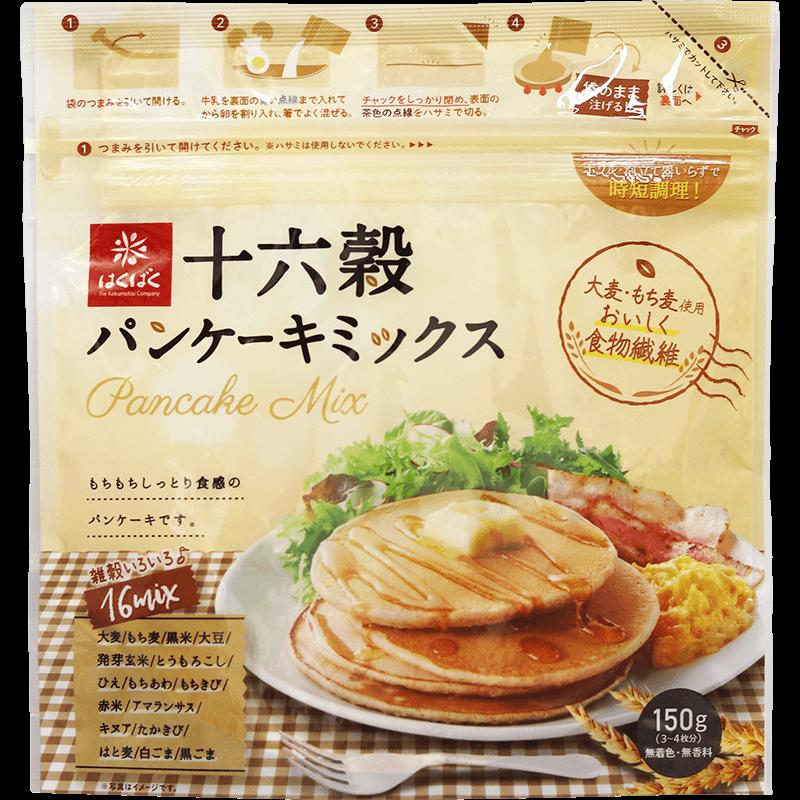 十六穀パンケーキミックス