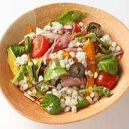 丸麦のプチプチサラダ