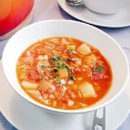 麦と野菜のミラノ風ミネストローネ