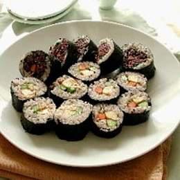 十六穀の巻き寿司