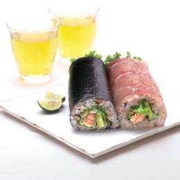 ハムサラダ巻き寿司