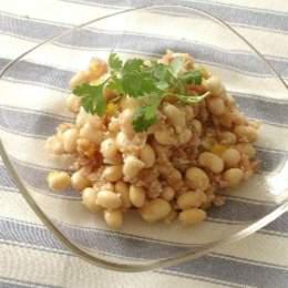大豆と雑穀のサラダ