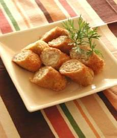 雑穀マヨネーズ巻き豚カツ