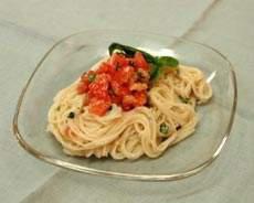 冷製トマト麺