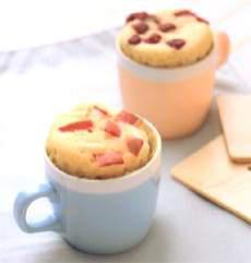 はちみつりんごの簡単カップケーキ