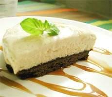 ムギチャのチーズケーキ