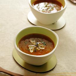 まいにちおいしい雑穀ごはんのトマトスープ