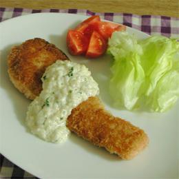 鮭フライ雑穀タルタルソース