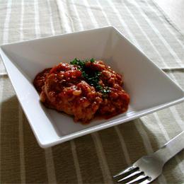 チキンと雑穀のとろーりトマト煮