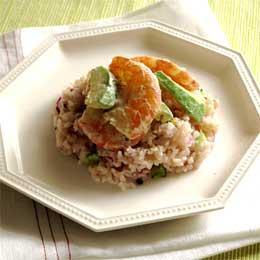 海老とアボカドのサラダライス