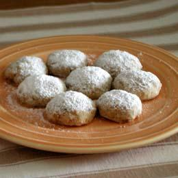すいとん粉で作るウォールナッツクッキー