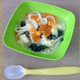 野菜たっぷり和風うどん