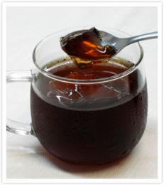 香ばしノンカフェイン麦茶ゼリー
