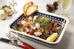 炊飯器で簡単!ミラノ風大麦パエリア